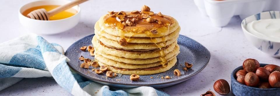 Pancakes au yaourt grec
