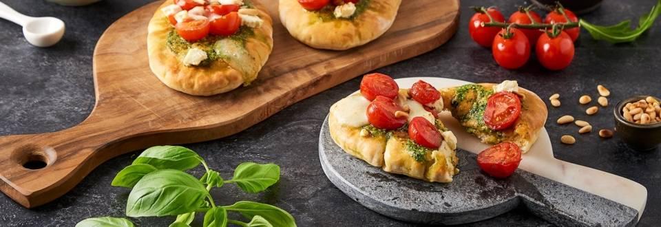 Pizettes de  pita