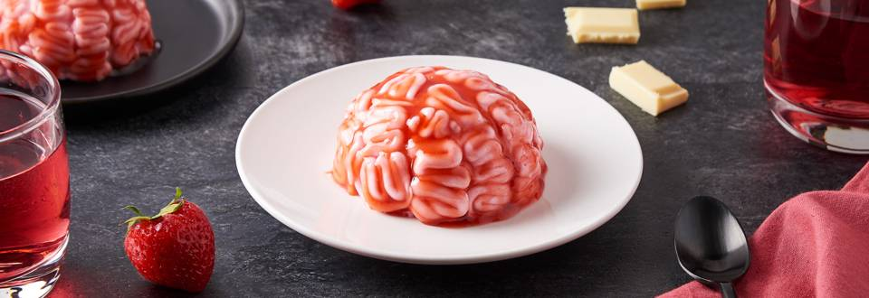 Gâteau cervelle d'Halloween