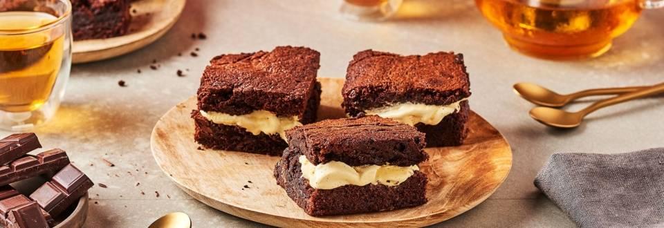 Ice-cream brownie