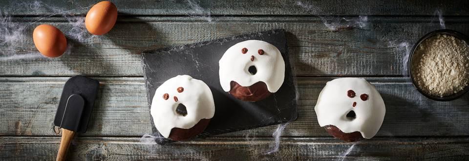 Donuts d'Halloween au chocolat