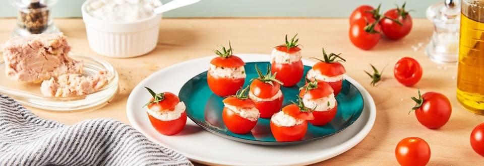 Mini tomates farcies au thon