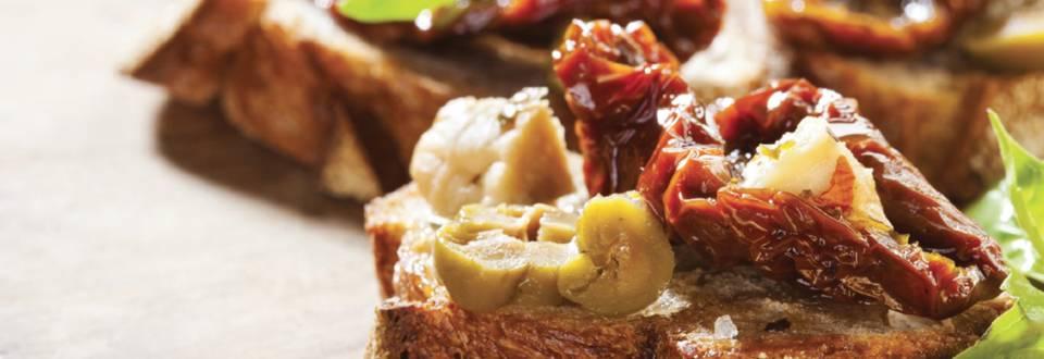 Tartines gourmandes au Rocamadour