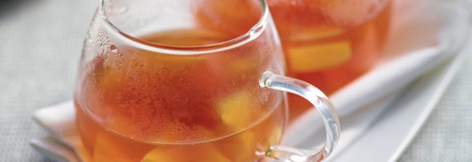 Punch au thé, ananas et vanille