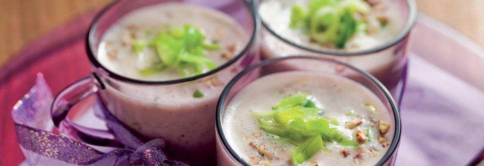 Soupe au Prosecco et noix de Pécan
