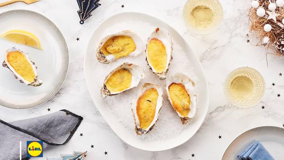 La recette des huîtres au Champagne