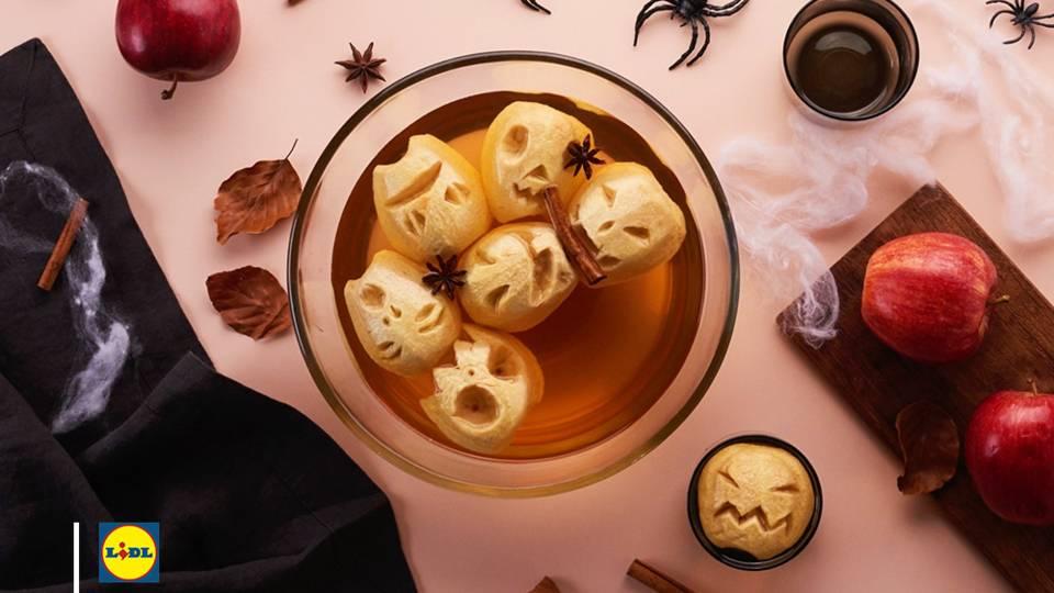 Jus de pommes terrifiant pour Halloween