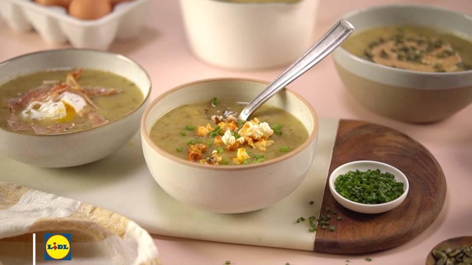 3 toppings pour ma soupe de légumes