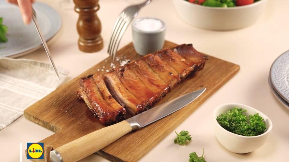 Marinade express pour travers de porc