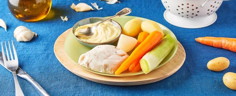 Aïoli et légumes