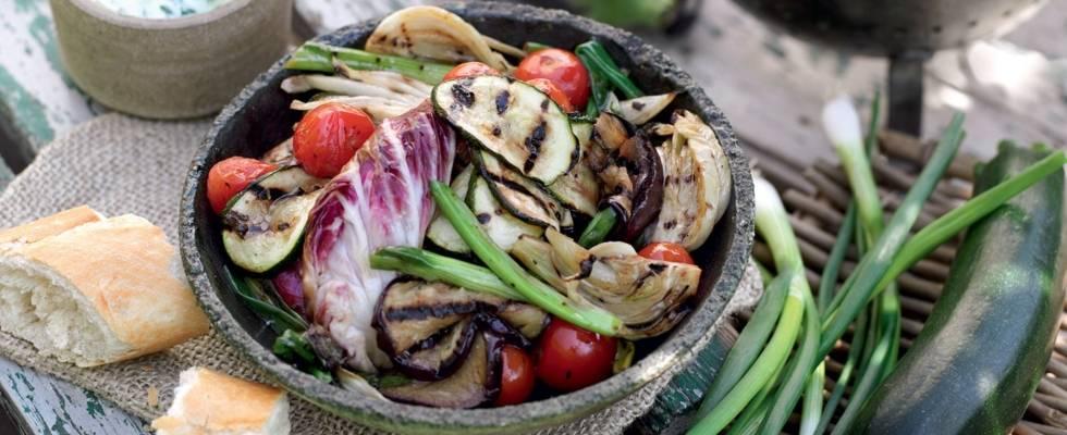 Légumes du soleil marinés aux herbes
