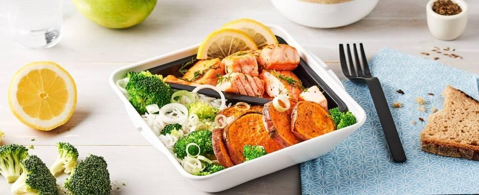 Lunch box healthy